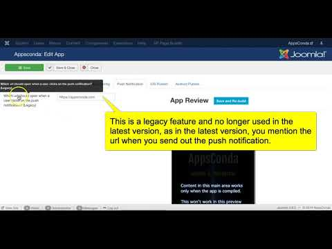 How To Create Mobile App Through Joomla CMS