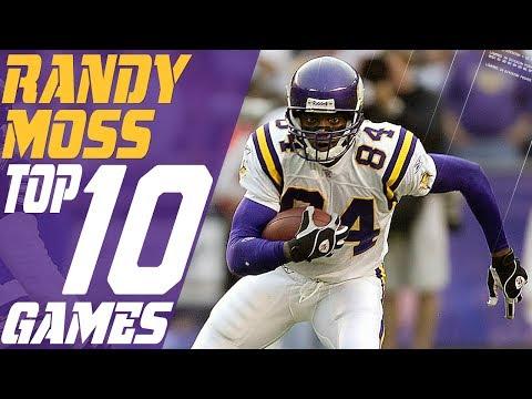 Top 10 Randy Moss Games | Total Access | NFL Highlights