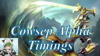 Cowsep Master Yi Alpha Timings