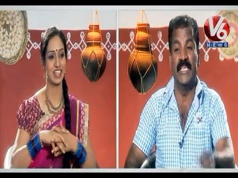 Racha Ramulamma Chit Chat With Folk Singer Warangal Srinivas || V6 News
