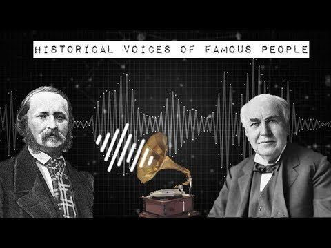 Historical Voices of Famous People