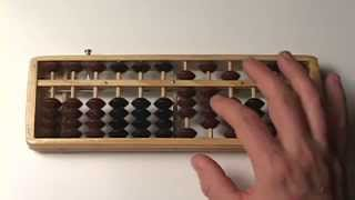 Abacus Lesson 17 // Simple Subraction (#'s 0-10) HUNDRED'S column // Step by Step // Tutorial