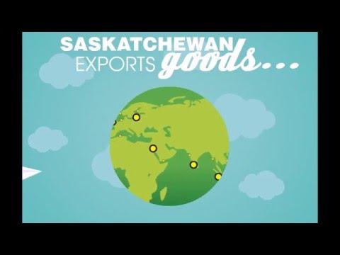 Saskatchewan Exports Infographic