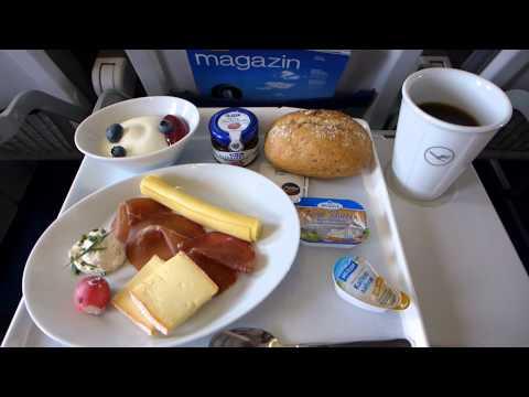 Lufthansa Business Class Frankfurt Stockholm-Arlanda A320-200 August 2014