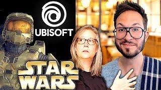 Ubisoft et le streaming, Halo la série TV, Cyberpunk 2077 en pré-alpha, l'avenir d'Amy Hennig...