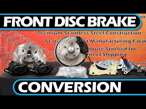 how-to- -front-disc-brake-conversion