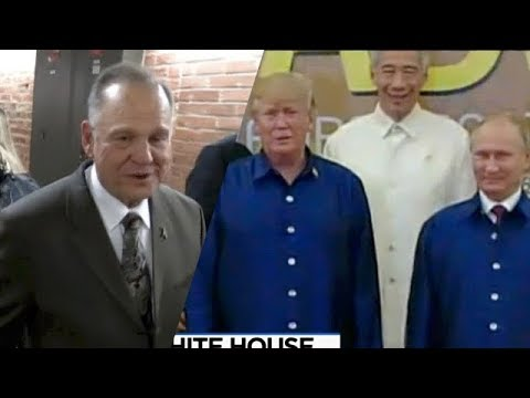Roy Moore Slams Dems, GOP Establishment & Accusers + Trump Clarifies Comments About Meeting w/ Putin