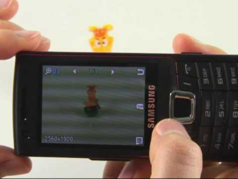 Samsung S7220 Ultra Classic Test Kamera