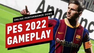 PES 2022: Online Performance Test Demo Gameplay