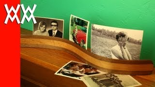 Frameless Photo Stand: The Trendy Bendy Way To Display Your Pictures!
