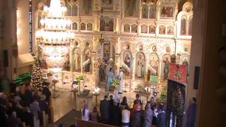 The Lord's Prayer - Hierarchical Divine Liturgy - Mckeesport, PA - January 23, 2011