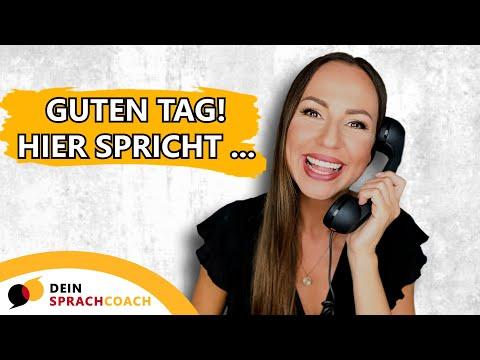 TELEFONIEREN AUF DEUTSCH (Tipps, Tricks, Redemittel)
