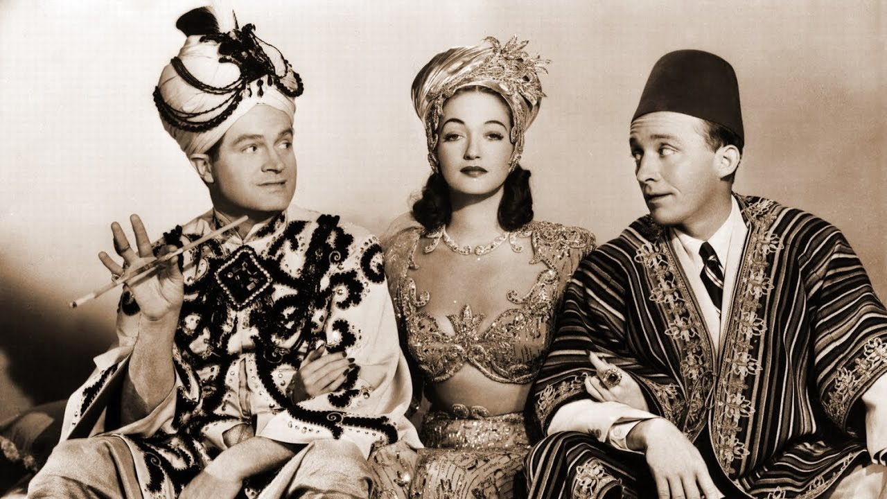 Road to Morocco - Bob Hope, Dorothy Lamour and Bing Crosby