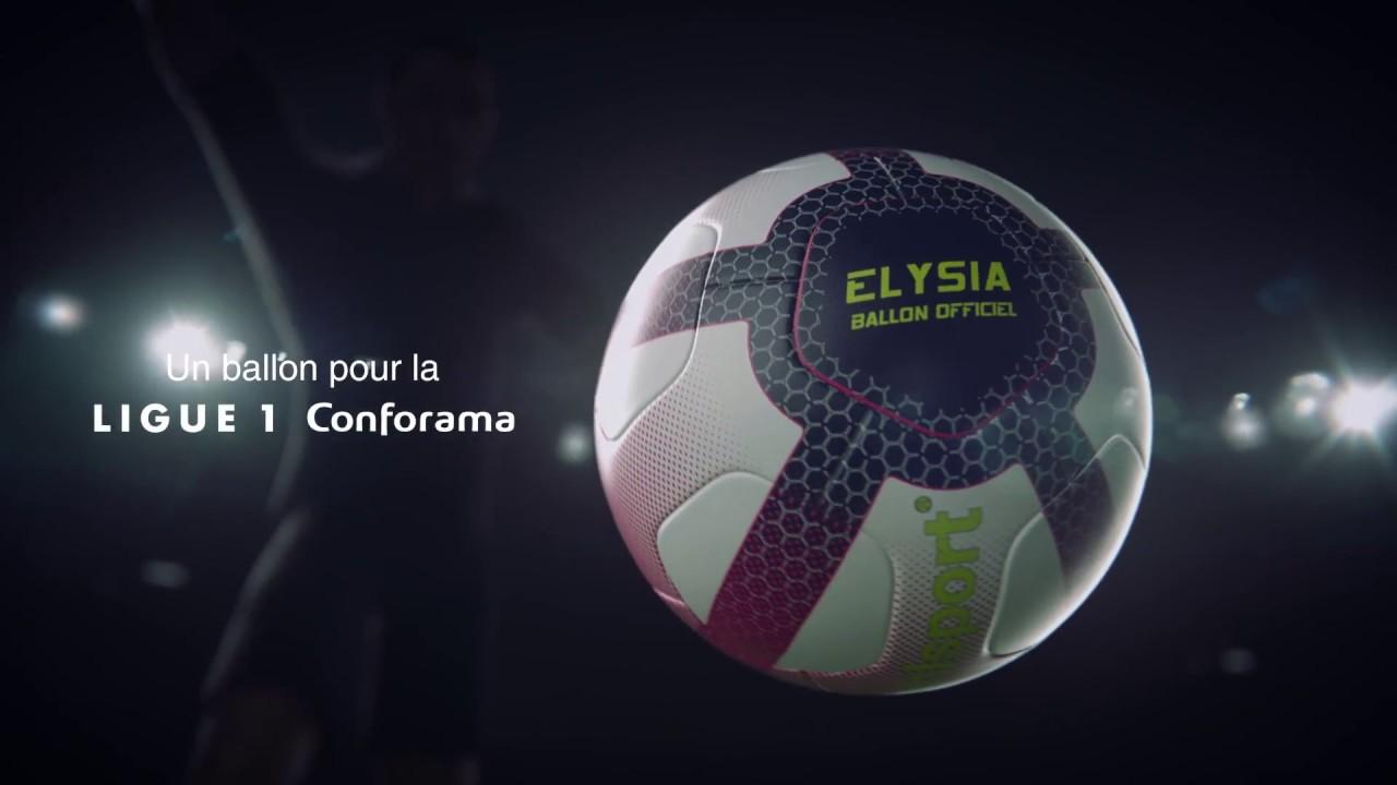 uhlsport elysia official ligue 1 conforama match ball 2018 2019 youtube. Black Bedroom Furniture Sets. Home Design Ideas