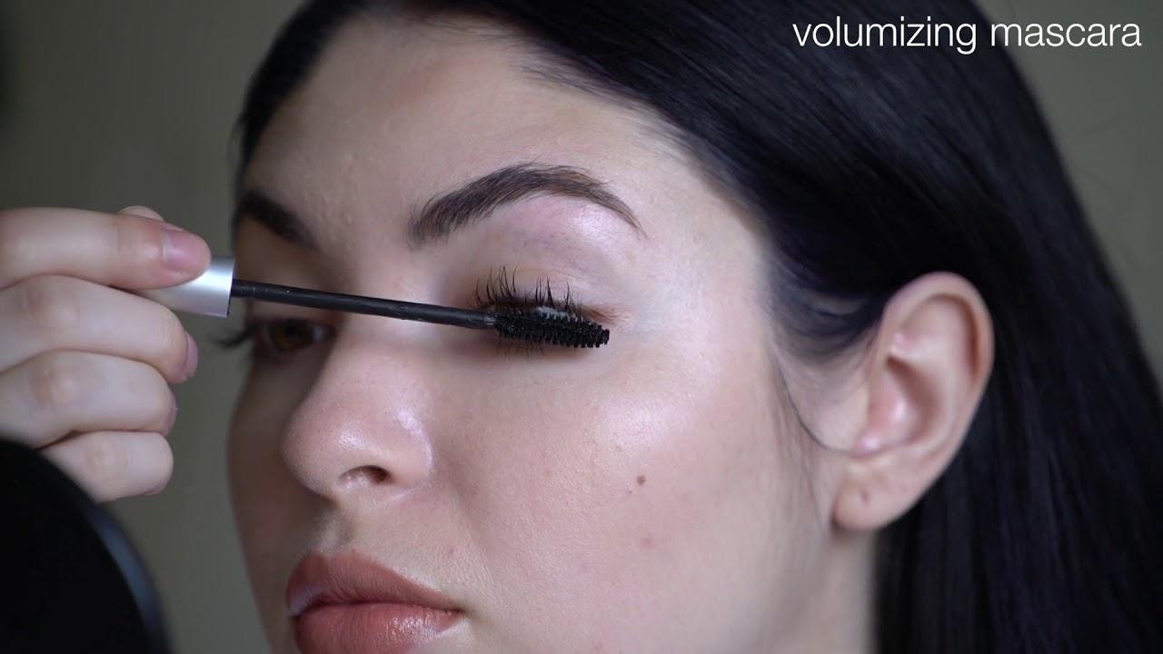 da60c9f9f6c How To Apply RMS Beauty Volumizing Mascara - YouTube
