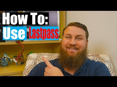 How to use Lastpass Password Manager