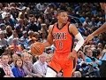 Russell Westbrook Hammers Home the Putback Slam