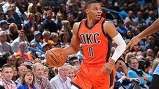 Russell westbrook hammers home a ridiculous putback dunk versus the nuggets. about nba: nba is premier professional basketball league in unit...