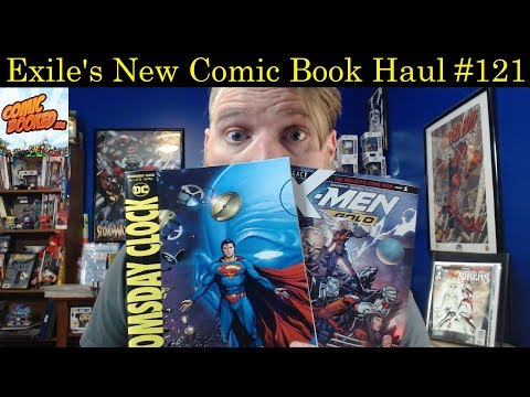 DC's Doomsday Clock Begins! Plus X-Men | New Comic Book Haul #121