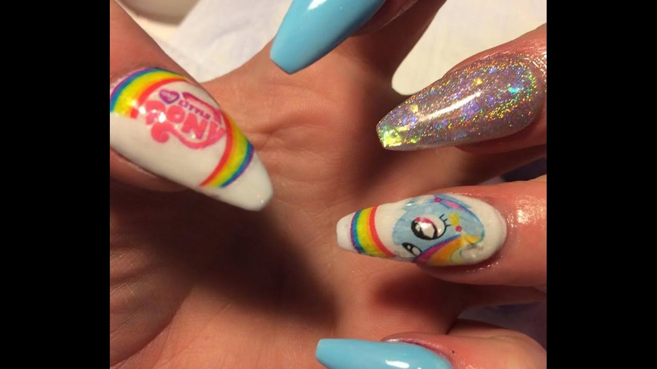 How To Use Nail Decals My Little Pony