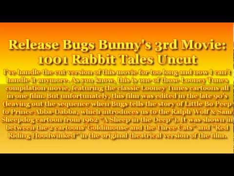 bugs bunnys 3rd movie 1001 rabbit tales trailer