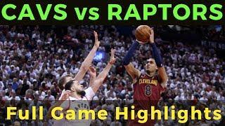 Cleveland Cavaliers vs Toronto Raptors Full Game |October 17,2018|