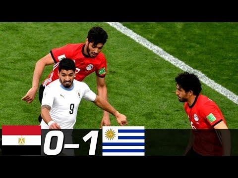 Hasil Bola Tadi Malam MESIR 0-1 URUGUAY HIGHTLIGHT #EGYURU Piala Dunia 2018