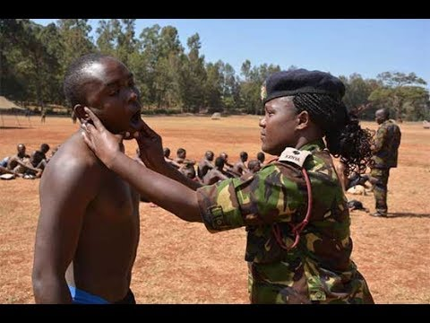 Military warning against bribery as KDF recruitment exercise