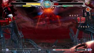 BLAZBLUE CENTRALFICTION Unlimited Ragna
