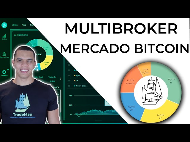Multibroker: TradeMap + Mercado Bitcoin