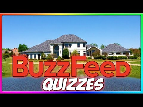 WHAT IS MY DREAM HOME?!   Funny BuzzFeed Quizzes