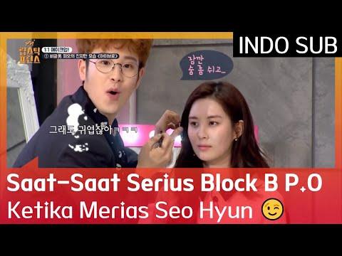 Saat-Saat Serius Block B P.O Ketika Merias Seo Hyun 😉 #LipstickPrince 🇮🇩 INDO SUB 🇮🇩