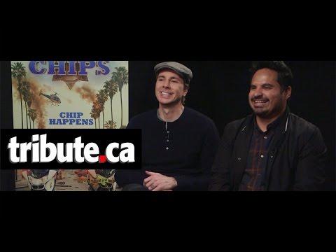 Dax Shepard & Michael Peña - CHiPs Interview