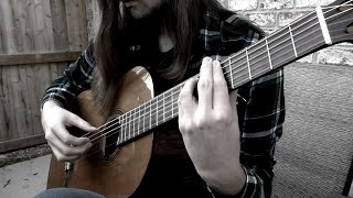 """Opeth """"Persephone"""" For Solo Classical Guitar"""