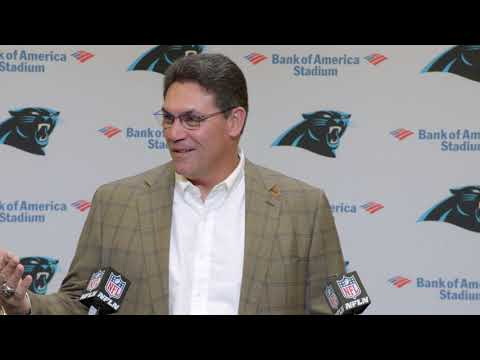 Ron Rivera Gets Emotional in Final Press Conference | Panthers ...