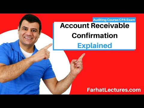 Account receivable confirmation CPA exam Auditing Course