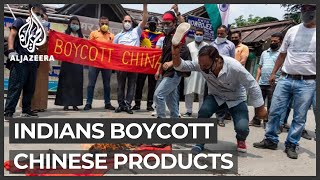 India-China tensions: Calls for boycott of Chinese products