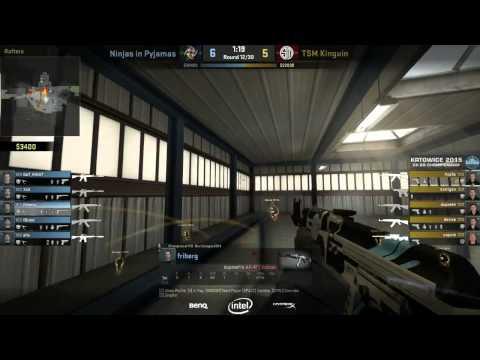 Katowice 2015 - NiP vs TSM Quarter Finals on Nuke - NiP PoV with comms (ENG SUB)