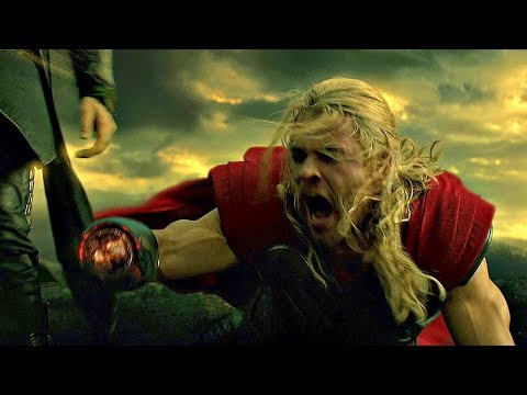 Loki Cuts Off Thor's Hand (Scene) Thor: The Dark World (2013) Movie CLIP HD
