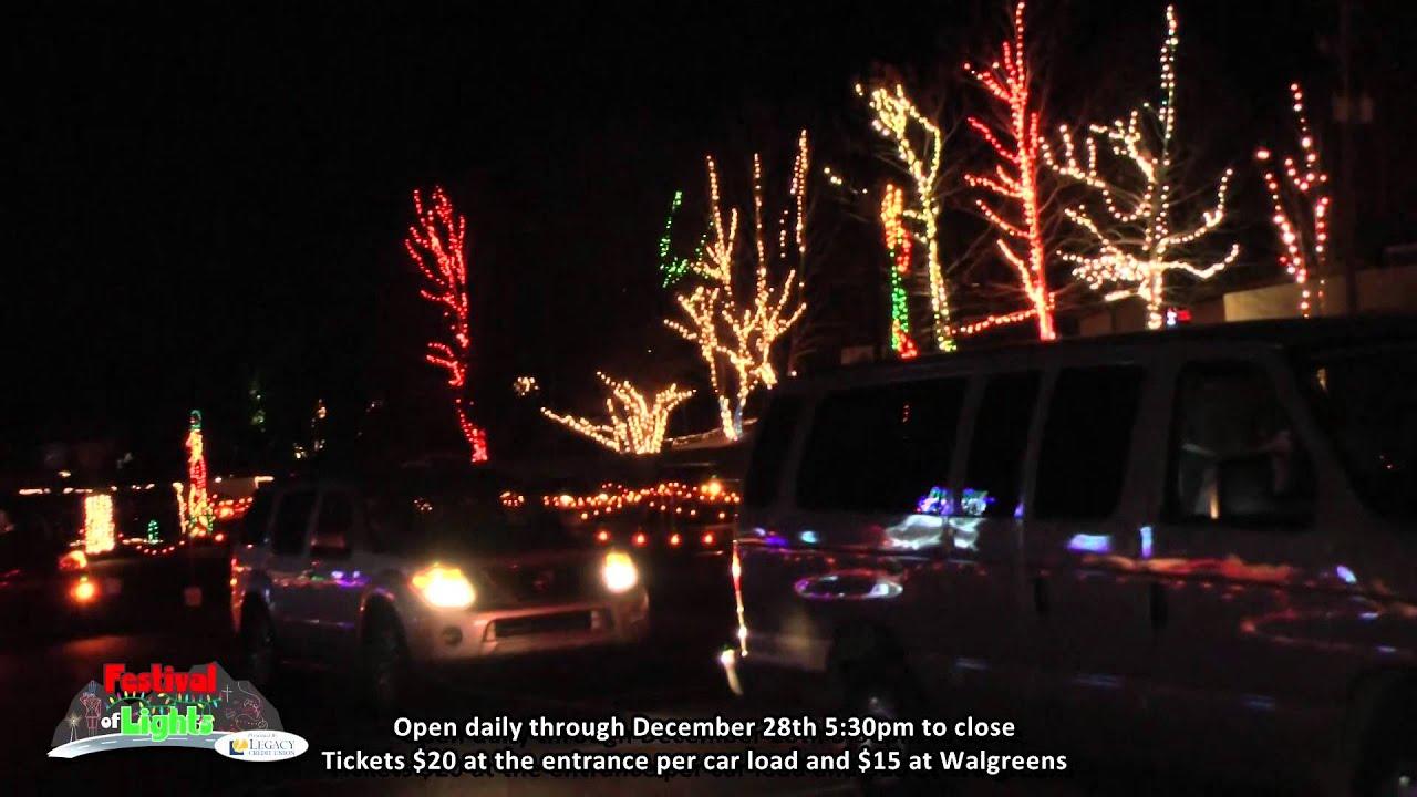 Oak Mountain Festival Of Lights Is Great! - YouTube