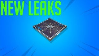 *NEW* Freeze trap Item! Fortnite Leaks! (banners, cube growth_