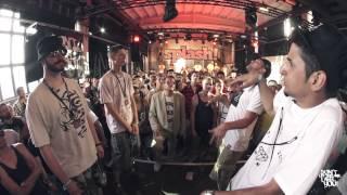 DLTLLY // Rap Battles // Hansen & Besser vs  BDad & Tobi Nice