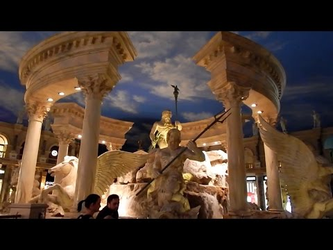 Relaxing Trevi Fountain at Caesar's Forum Shops.!