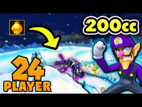 Mario Kart Wii 200cc KO 24-Player: Double Elimination #5