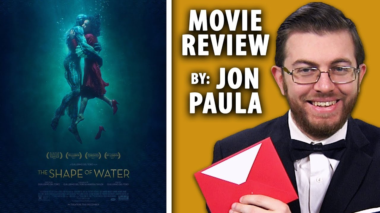 The Shape Of Water • Best Picture Movie Review #JPMN