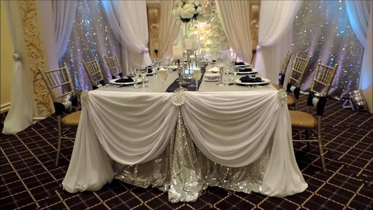 Reception Wedding Decor & Floral Arrangement Ideas