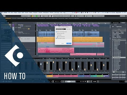 How to Archive and Back up Your Cubase Projects | Q&A with Greg Ondo