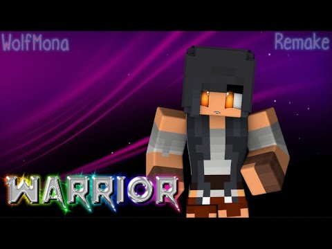 Aphmau - Warrior -Remix- (Music Video) {Remake}