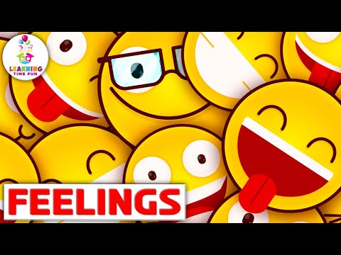 These Are My Feelings   Kid's Learning Songs   Feelings and Emotions for Children