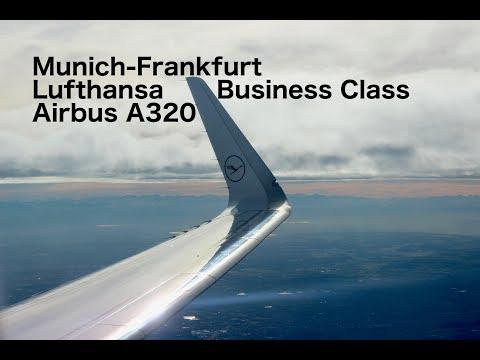Flight Report: Munich-Frankfurt Lufthansa Business Class Airbus A320